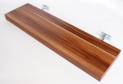 Floating Shelf Walnut Floating Shelf Walnut 900X250X50Mm  The Shelving Shop