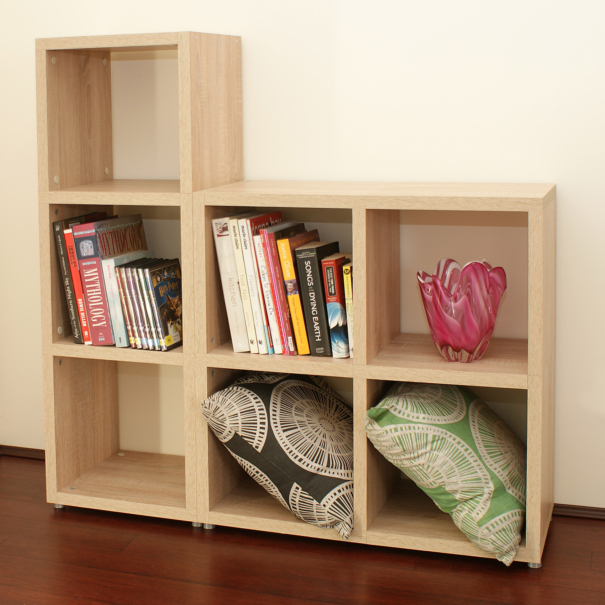 Boon Cube Oak Also Available In White The Shelving Shop - Cube shelves