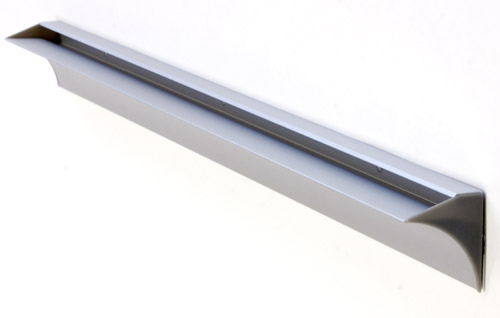 . 8mm Glass Shelf Slot Bracket 600mm Long   The Shelving Shop