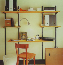 Office twintrack shelving