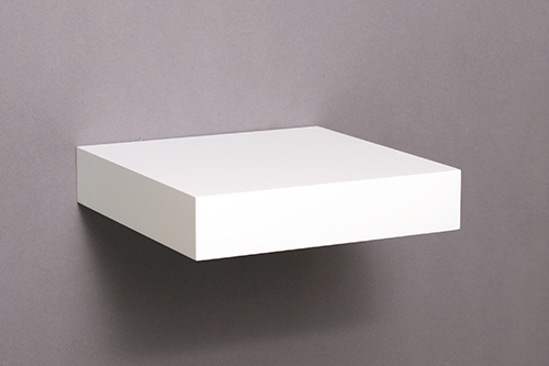 Floating Shelf Kit 40x40x40mm The Shelving Shop Inspiration White Square Floating Shelves
