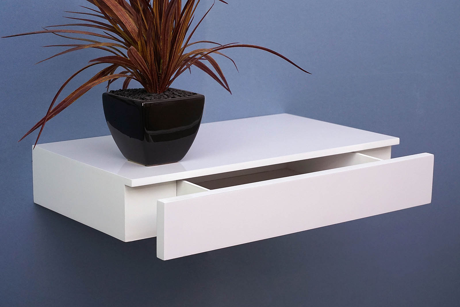 sports shoes 4260d 42d50 Floating Shelf With Drawer 450x250x80mm