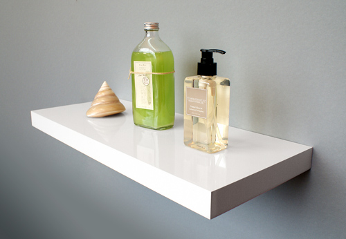 floating shelf gloss white 600x250x38mm the shelving shop rh shelvingshop com au gloss white floating shelves floating corner shelf white gloss