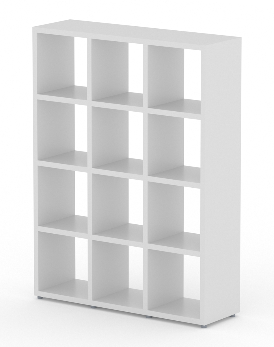 Boon 3×4 White – The Shelving Shop