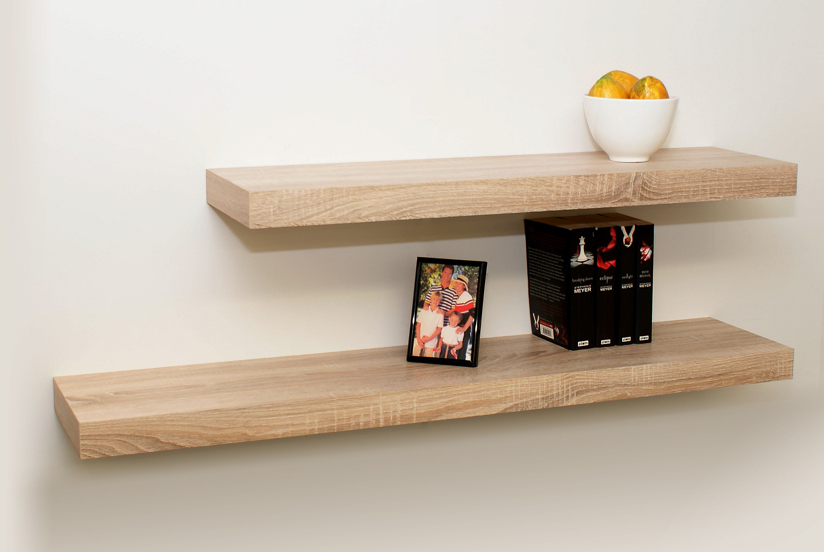 Fabulous Floating Shelves Oak 1150 900X250X50 Double Deal Download Free Architecture Designs Salvmadebymaigaardcom