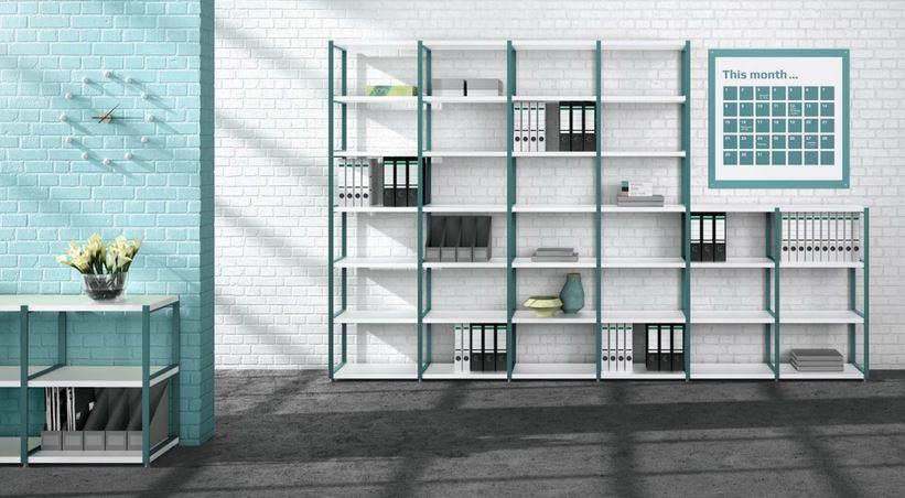 Boon maxx metal 6×6 – The Shelving Shop