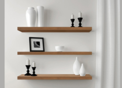 Groovy 50Mm Thick Floating Shelves The Shelving Shop Download Free Architecture Designs Embacsunscenecom